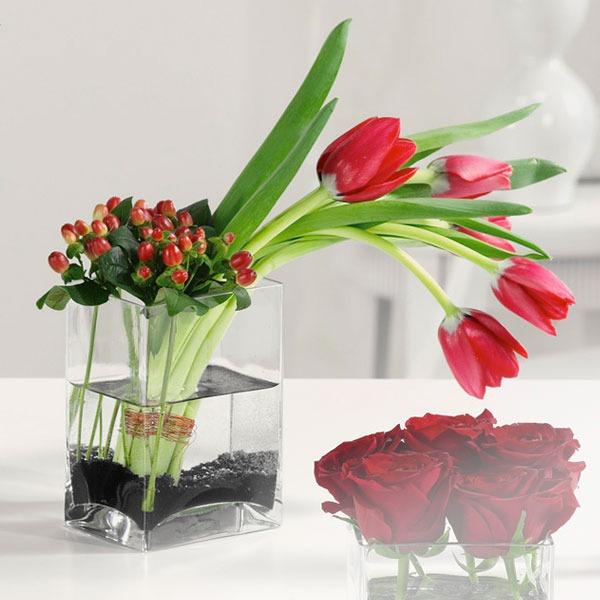 Simple With Tulips Bridgewater Florist