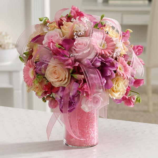 Dearest pink posh bouquet bridgewater florist item description dearest pink posh bouquet mightylinksfo