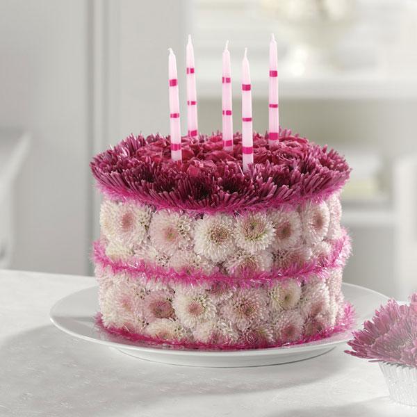 Birthday Flower Cake Bridgewater Florist