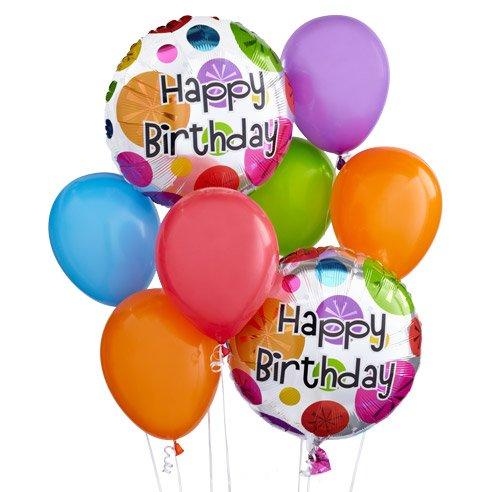 Birthday Wishes Balloon Bouquet